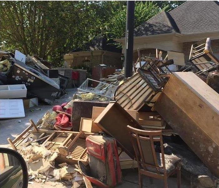 Storm Damage When Storms or Floods hit, SERVPRO is ready!